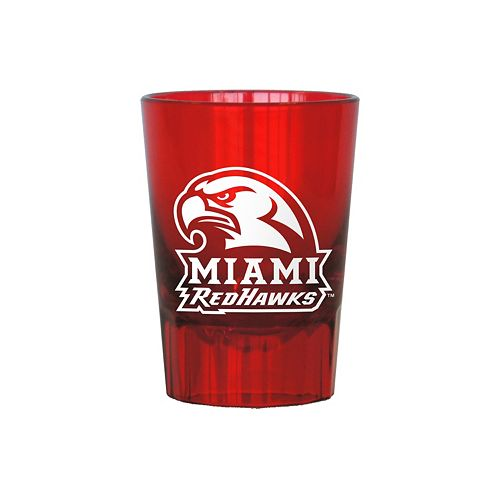 Boelter Miami RedHawks 4-Pack Shot Glass Set
