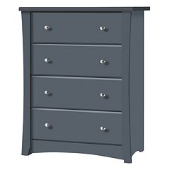 Stork Craft Crescent 4-Drawer Dresser