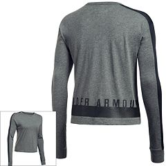 Women's Under Armour Favorite Mesh Long Sleeve Graphic Top