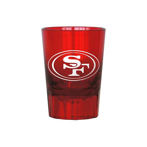 Boelter San Francisco 49ers 4-Pack Shot Glass Set