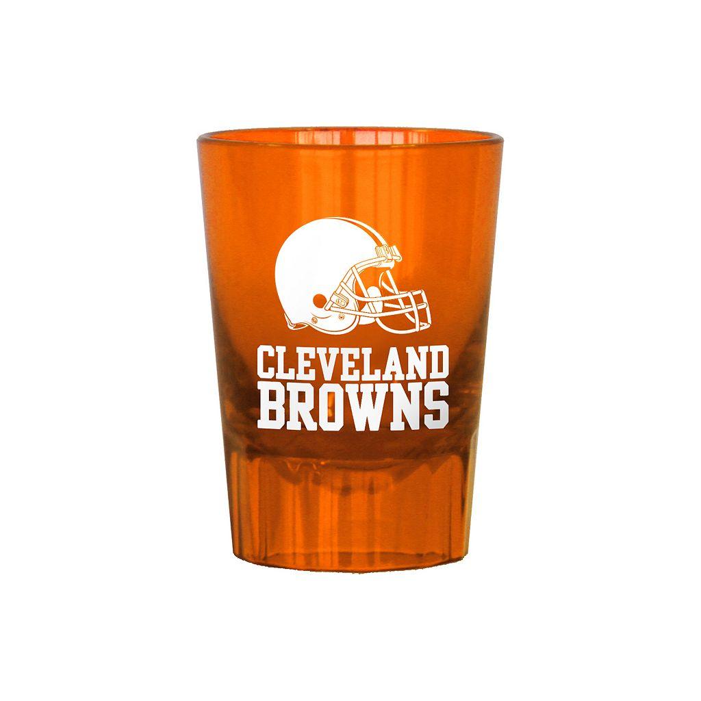 Boelter Cleveland Browns 4-Pack Shot Glass Set