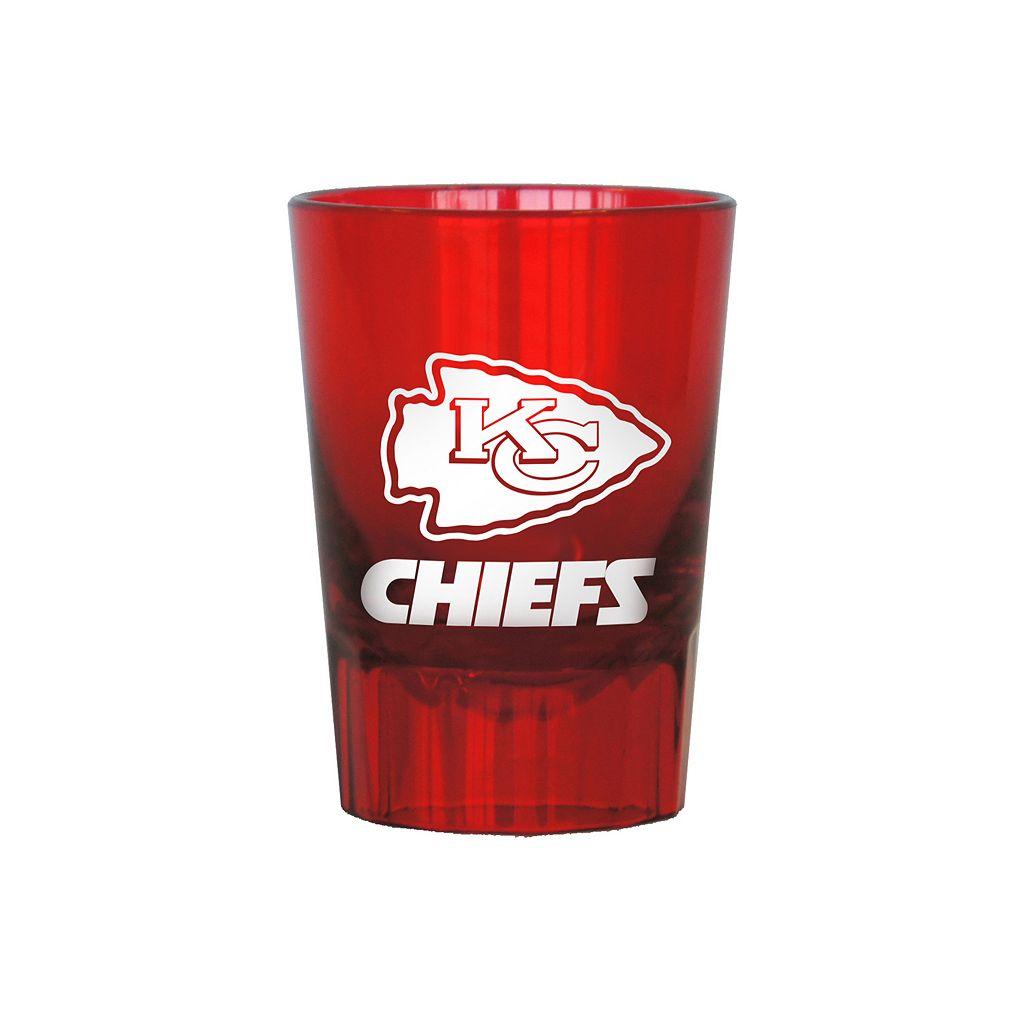 Boelter Kansas City Chiefs 4-Pack Shot Glass Set