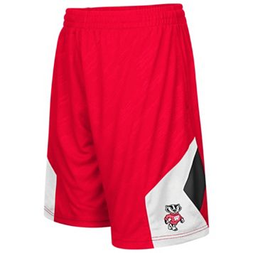 Boys 8-20 Campus Heritage Wisconsin Badgers Sleet Shorts