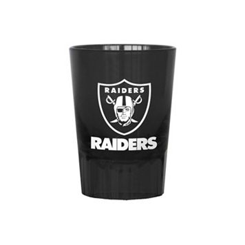 Boelter Oakland Raiders 4-Pack Shot Glass Set