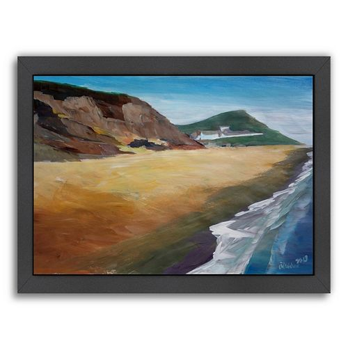 "Americanflat ""Irish Coast Wexford"" Framed Wall Art"