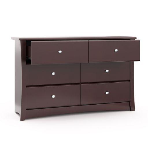 Stork Craft Crescent 6 Drawer Dresser