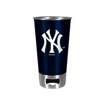 Boelter New York Yankees Pint Glass Bottler Opener