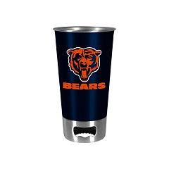 Boelter Chicago Bears Pint Glass Bottler Opener