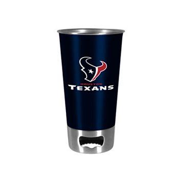 Boelter Houston Texans Pint Glass Bottler Opener