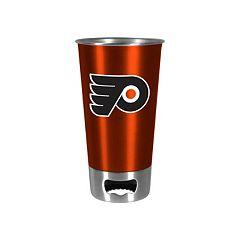 Boelter Philadelphia Flyers Pint Glass Bottler Opener