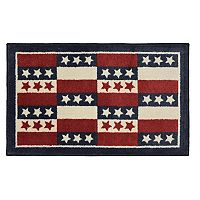 SONOMA Goods for Life™ Ultimate Performance Americana Patchwork Rug - 20'' x 34''