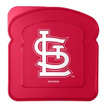 Boelter St. Louis Cardinals 4-Pack Sandwich Container