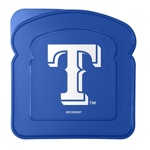 Boelter Texas Rangers 4-Pack Sandwich Container