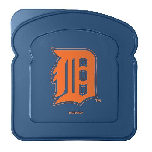 Boelter Detroit Tigers 4-Pack Sandwich Container