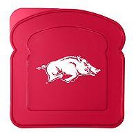 Boelter Arkansas Razorbacks 4-Pack Sandwich Container