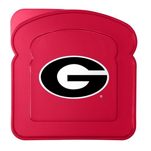 Boelter Georgia Bulldogs 4-Pack Sandwich Container