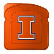 Boelter Illinois Fighting Illini 4-Pack Sandwich Container
