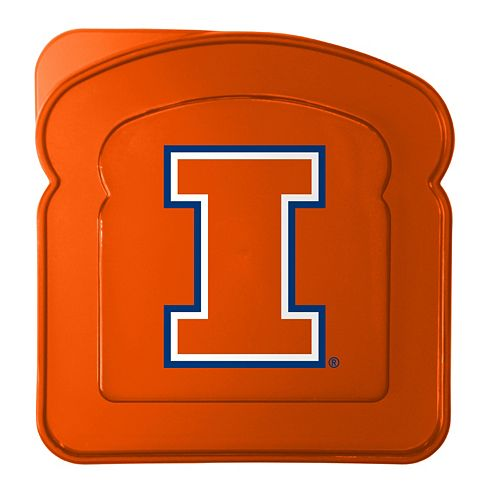 Boelter Illinois Fighting Illini 4-Pack Sandwich Container