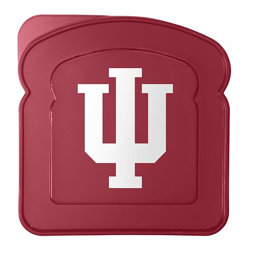 Boelter Indiana Hoosiers 4-Pack Sandwich Container