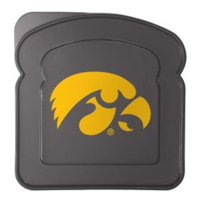 Boelter Iowa Hawkeyes 4-Pack Sandwich Container