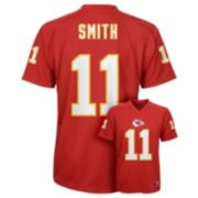 Boys 8-20 Kansas City Chiefs Alex Smith Replica Jersey
