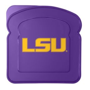 Boelter LSU Tigers 4-Pack Sandwich Container