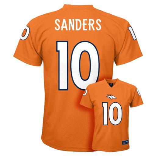 Boys 8-20 Denver Broncos Emmanuel Sanders Replica Jersey