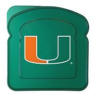 Boelter Miami Hurricanes 4-Pack Sandwich Container