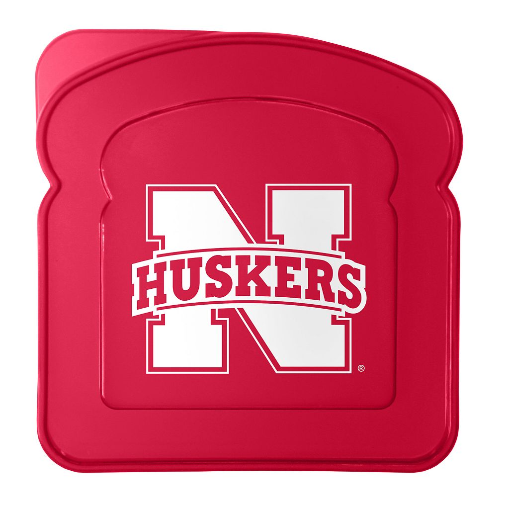Boelter Nebraska Cornhuskers 4-Pack Sandwich Container