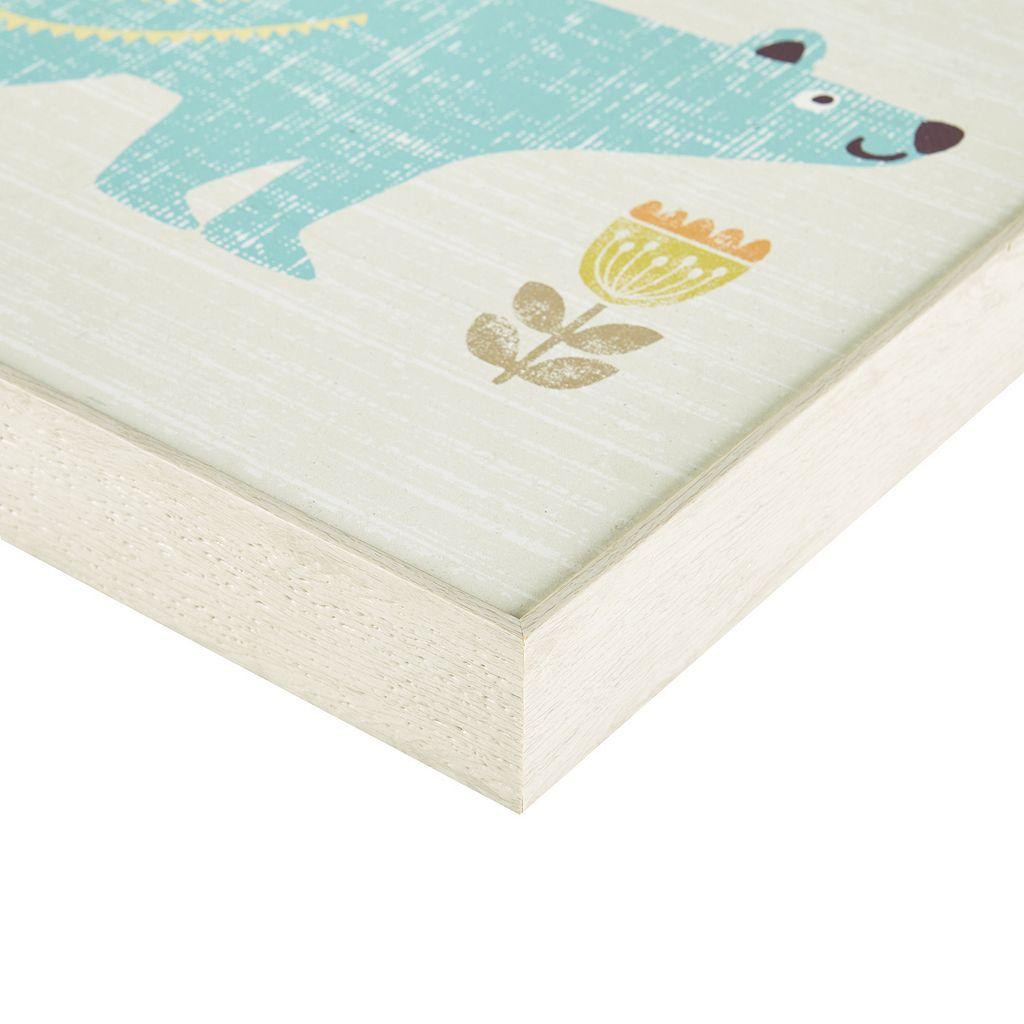 INK+IVY Kids Polar Bear & Nutty Squirrel Framed Wall Art 2-piece Set