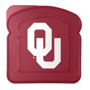 Boelter Oklahoma Sooners 4-Pack Sandwich Container