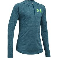 Girls 7-16 Under Armour Novelty Tech 1/4-Zip Hoodie