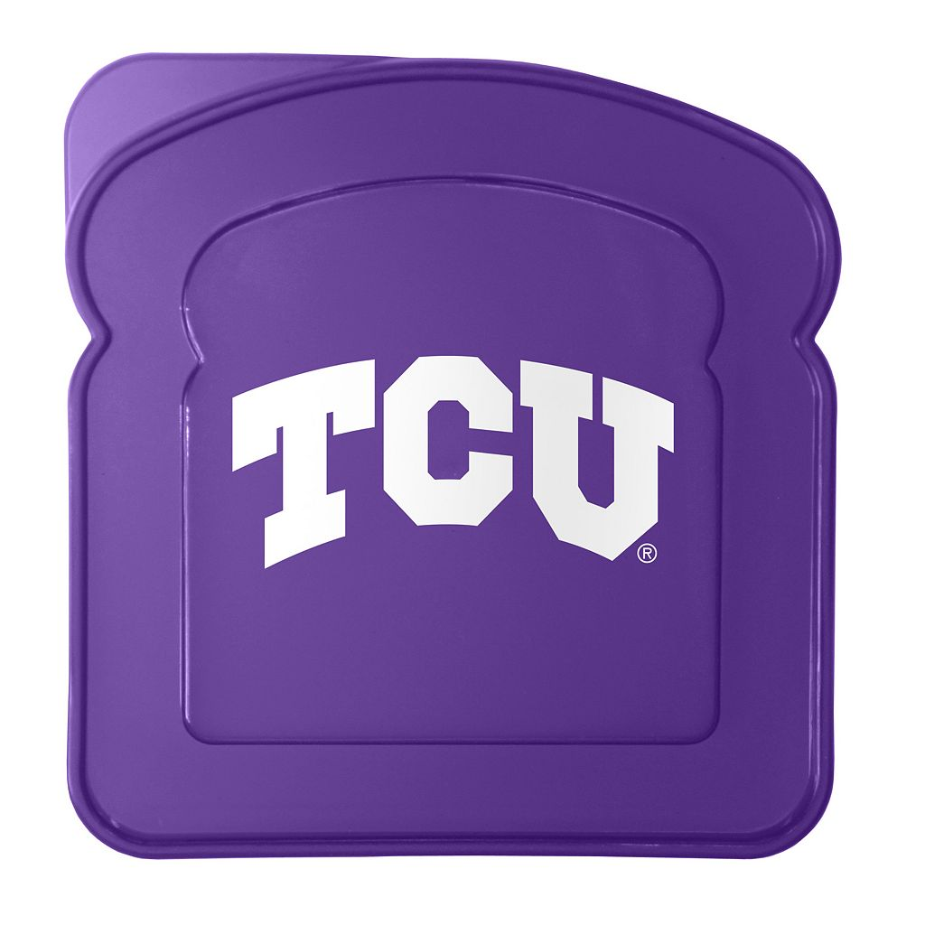 Boelter TCU Horned Frogs 4-Pack Sandwich Container