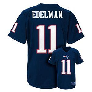 Boys 8-20 New EnglandPatriots Julian Edelman Replica Jersey
