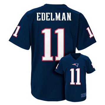 Boys 8-20 New England Patriots Julian Edelman Replica Jersey
