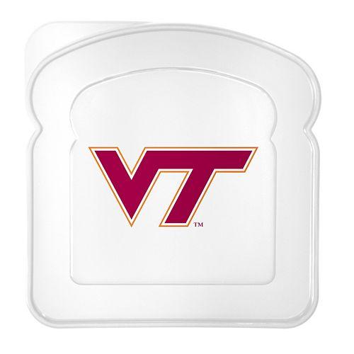 Boelter Virginia Tech Hokies 4-Pack Sandwich Container