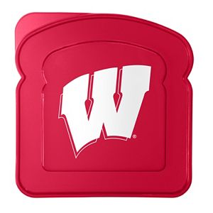Boelter Wisconsin Badgers 4-Pack Sandwich Container