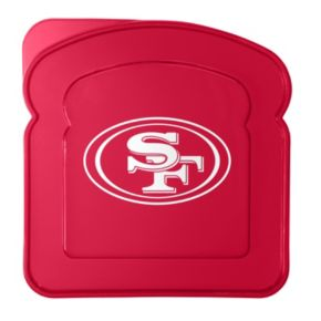 Boelter San Francisco 49ers 4-Pack Sandwich Container