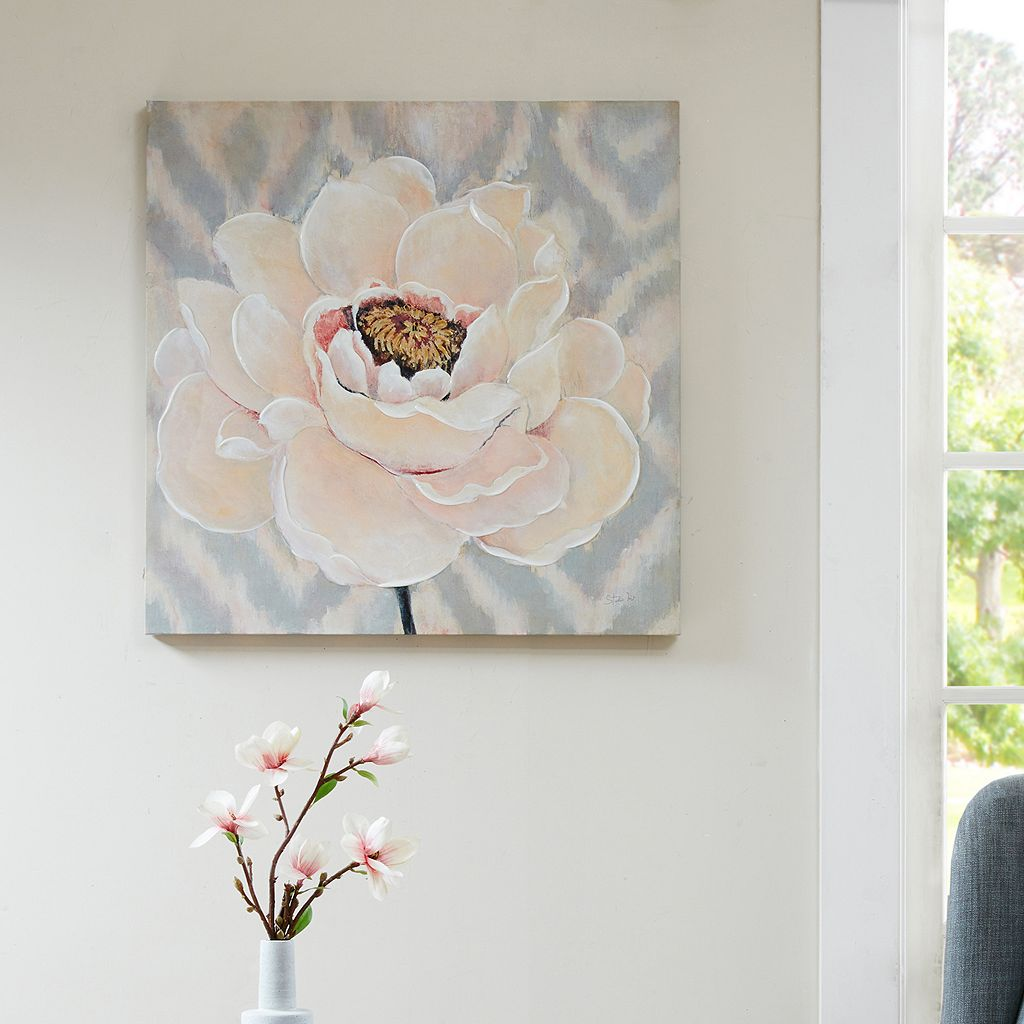 Madison Park Inspired Blossoms Canvas Wall Art
