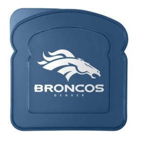 Boelter Denver Broncos 4-Pack Sandwich Container