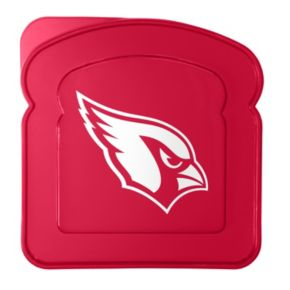 Boelter Arizona Cardinals 4-Pack Sandwich Container