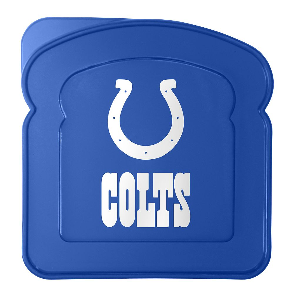 Boelter Indianapolis Colts 4-Pack Sandwich Container