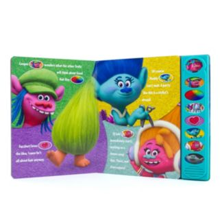"Dreamworks Trolls ""Good Hair Day"" Fuzzy Sound Book"