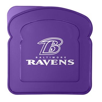 Boelter Baltimore Ravens 4-Pack Sandwich Container
