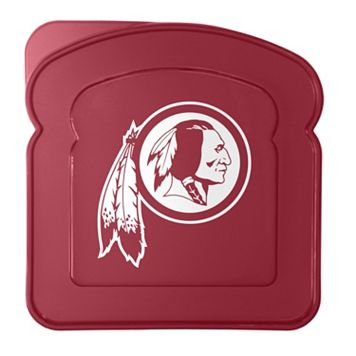 Boelter Washington Redskins 4-Pack Sandwich Container