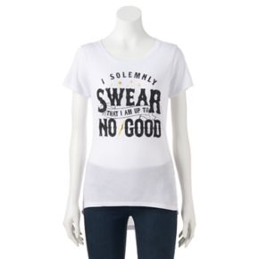 """Juniors' Harry Potter """"I Solemnly Swear"""" Graphic Tee"""