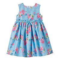 Baby Girl Blueberi Boulevard Lace Cut-Out Back Dress