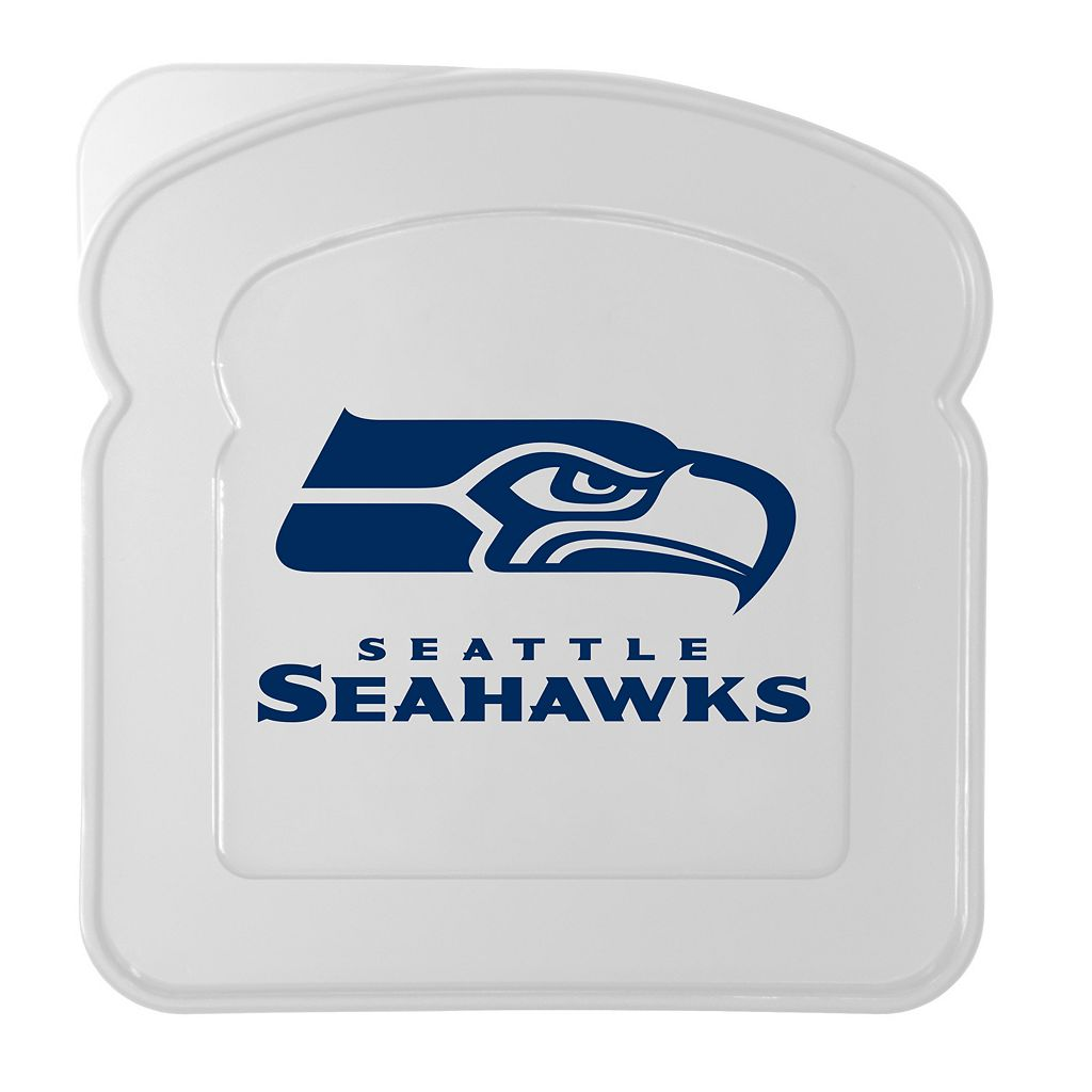 Boelter Seattle Seahawks 4-Pack Sandwich Container