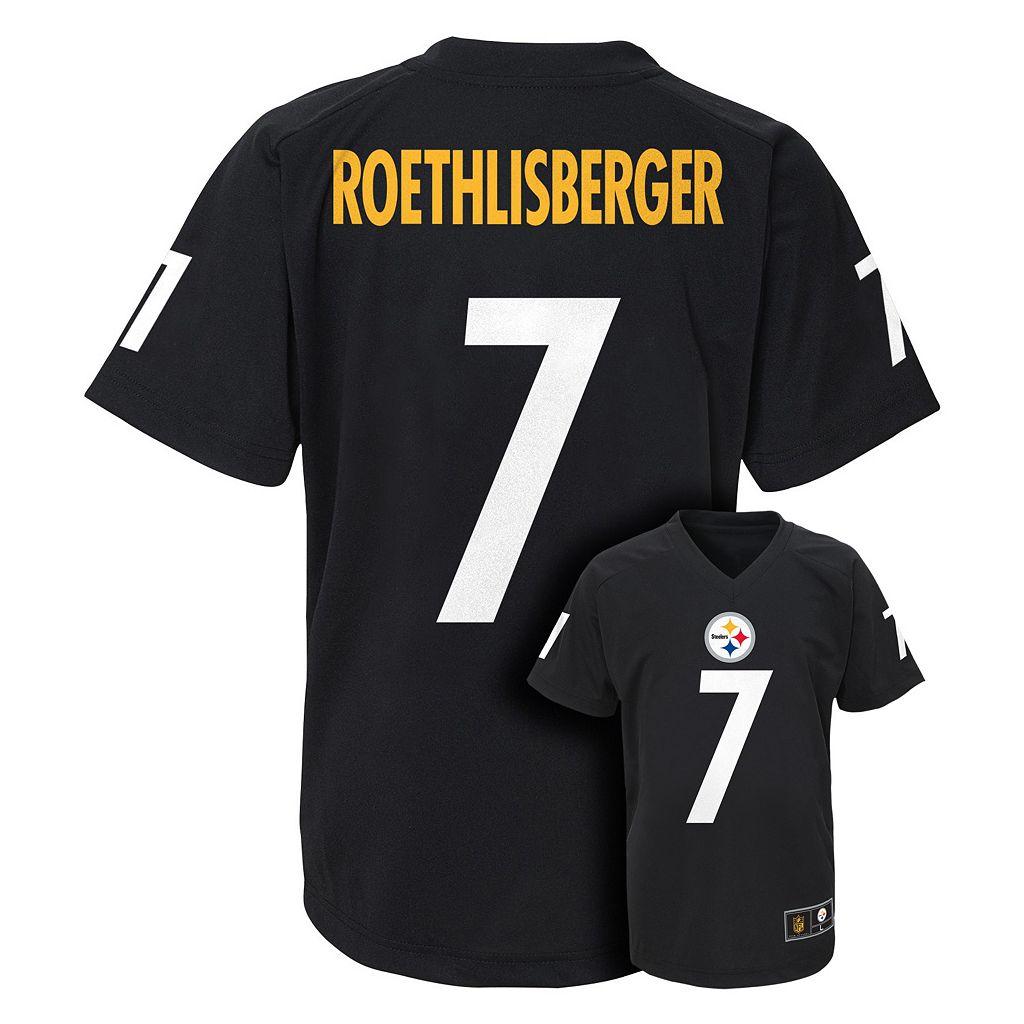 Boys 4-7 Pittsburgh Steelers Ben Roethlisberger Replica Jersey