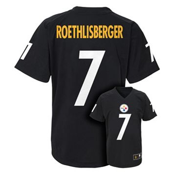Boys 4-7 Pittsburgh Steelers Ben Roethlisberger Replica Jersey